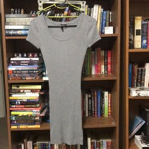 Grey bodycon dress. Divided by H&M size 6